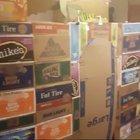 A gaming box fort, a dream come true!