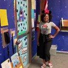 Passionate kindergarten teacher gives tour of brand new classroom she paid out of her own pockets.