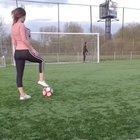 Impressive football skills