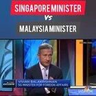Interesting video comparing Singapore and Malaysian ministers talking about the coronavirus currently making the rounds on social media.