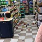 Lady Trashes Quick Chek