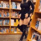 Tits at the bookstore [oc] [GIF]