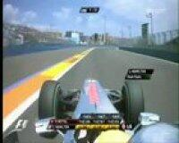 Webber's big crash