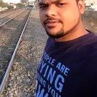 HMFT after my selfie with a train