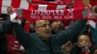 One Year Ago - This Spine-chilling Rendition of You'll Never Walk Alone after the Match.