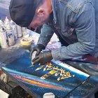 how this dude creates paintings