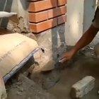 Elegant design and master technique with cement