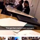 Student punches other student in the face over Avengers