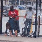 What happens at a Bus Stop