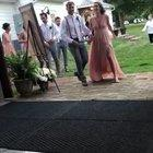 Showing off at the wedding...WCGW