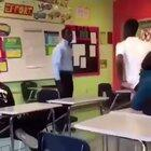 Substitute teacher was having none of it