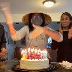Thanks to COVID19, I blew out my candles like this for my 23rd birthday.